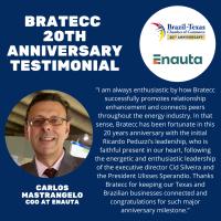 BRATECC 20th Anniversary Testimonial | Carlos Mastrangelo, Enauta