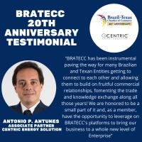 BRATECC 20th Anniversary Testimonial | Antonio P. Antunes Jr. - Centric Energy Solution