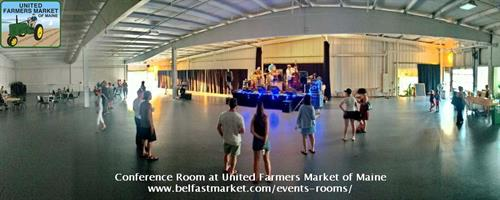 Conference Room at United Farmers Market of Maine