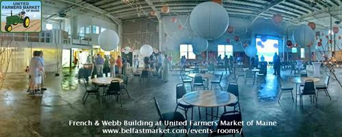 French & Webb Building at United Farmers Market of Maine