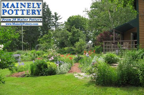 Visit our gardens out back