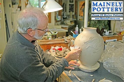 See Jamie creating in his studio.