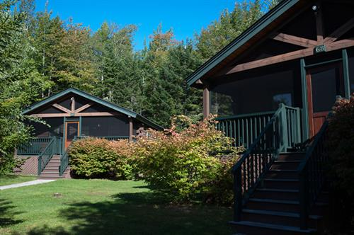Well-appointed 1, 2 or 3-bedroom white pine cabins