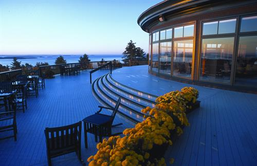 The Summit for weddings and events, top of the mountain