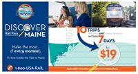 Discover Maine Rail Pass