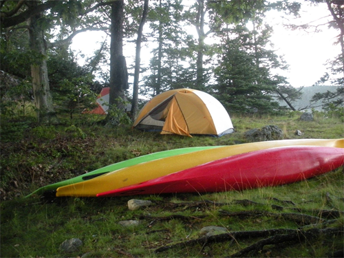 Camping on the Maine Island Trail