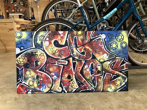 Shop art by Isaac!