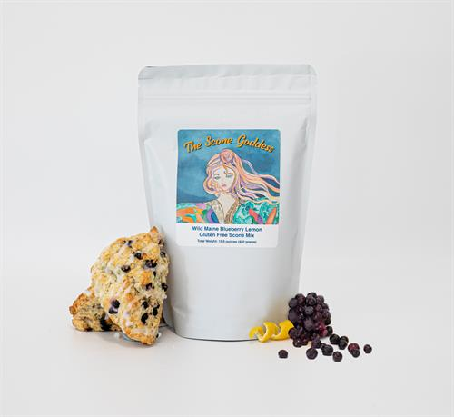 GF Wild Maine Blueberry Lemon Premium Scone Mix
