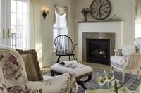 Some rooms include gas fireplaces