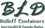 BLD Roll-Off Containers