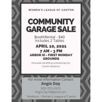 Community Garage Sale - 2021