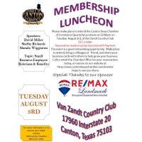 2021 3rd Quarterly Luncheon - Sponsored By RE/MAX Landmark