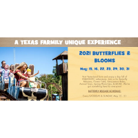 2021 Yesterland Farms Butterflies and Blooms - May 29, 30 & 31