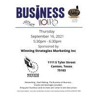 2021 Business After Hours - September - Winning Strategies