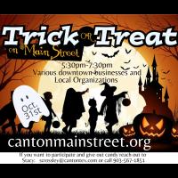 2021 - Trick or Treat on Main Street