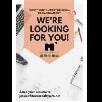 Receptionist-Marketing-Social Media Strategist
