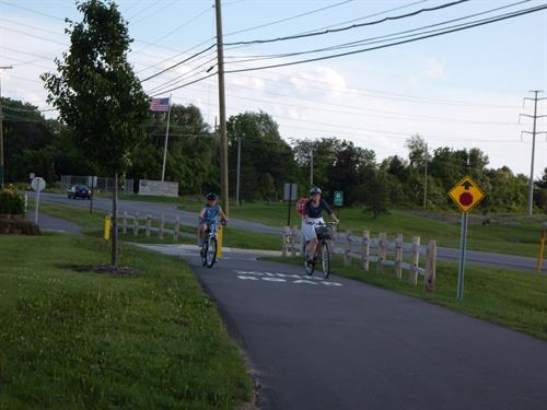 Biking in Township