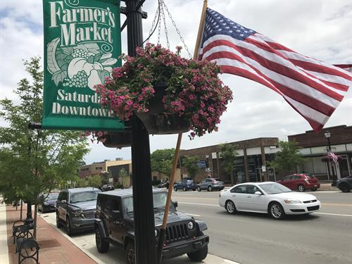 Farmers Market in Downtown Saline every Saturday!