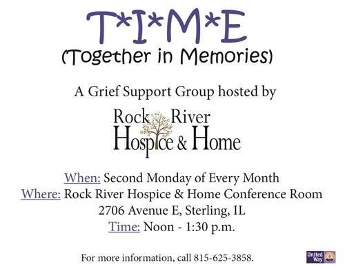TIME Together In Memories Grief Support Group