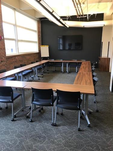 Our Peoria training space for public classes