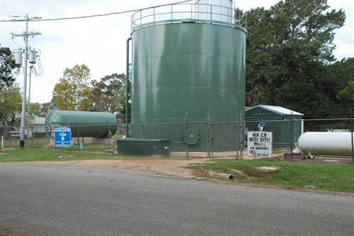 Water Infrastructure including ground storage tanks