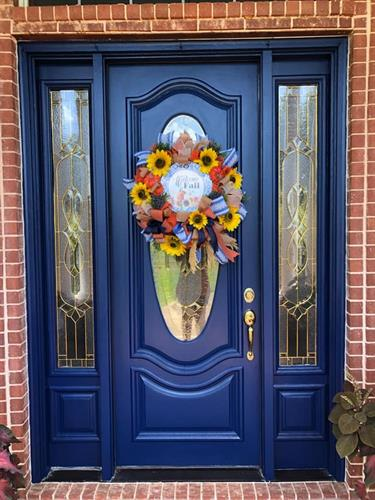 Blue Door repaint
