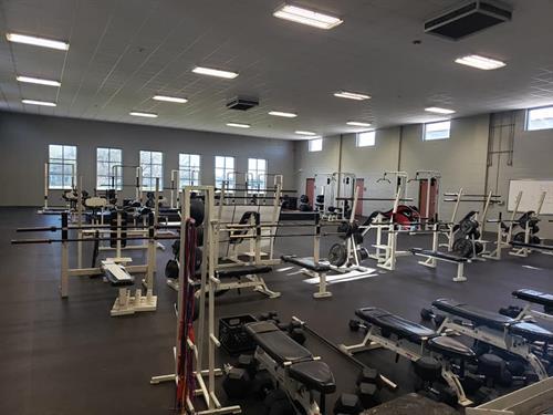 Columbus High School Weight Room