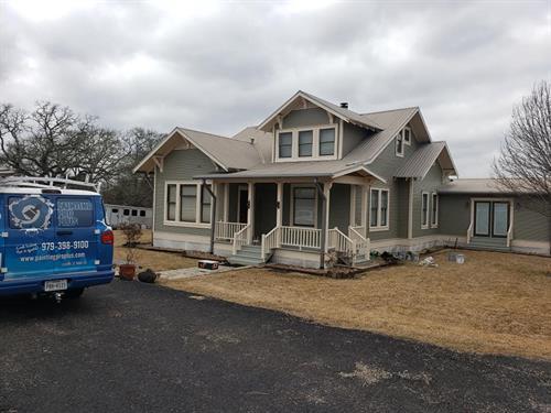 Exterior Repaint  G(reen House 1)