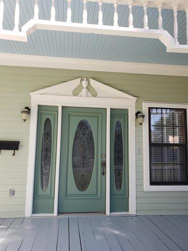 Exterior Repaint (Green House 2)
