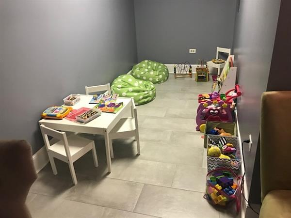 Children's area in Ultrasound room
