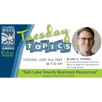 ChamberWest Tuesday Topics Virtual Meeting