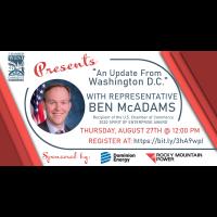 "ChamberWest Presents ""An Update From Washington D.C."" with Representative Ben McAdams"