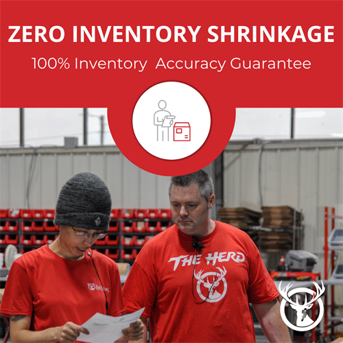 Zero Inventory Shrinkage