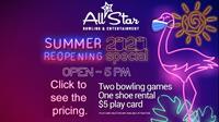 All Star Bowling & Entertainment - West Jordan