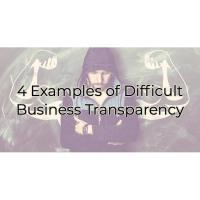 4 Examples of Difficult Business Transparency