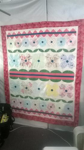 Custom Memory quilt from clothing