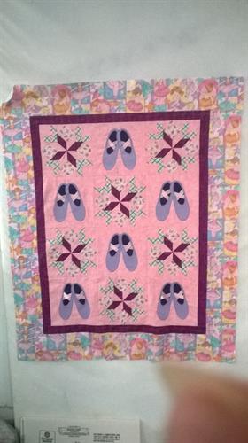 Custom child quilt