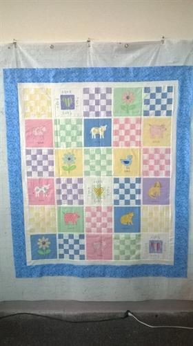 Custom Baby Quilt