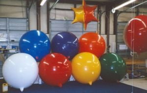 Giant Helium Balloons for Model Homes
