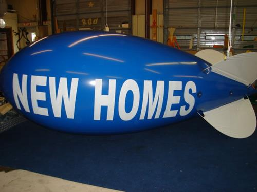 Advertising Blimps Attract Attention
