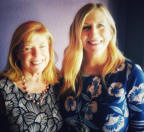 Kathy Martinez, Local Sales Representative and Pam McCurry, Owner/Publisher