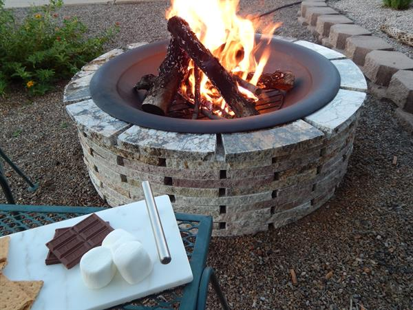 Patio Fire Pit Kit