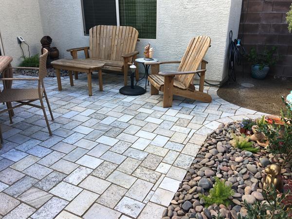 Sand Blend Courtyard