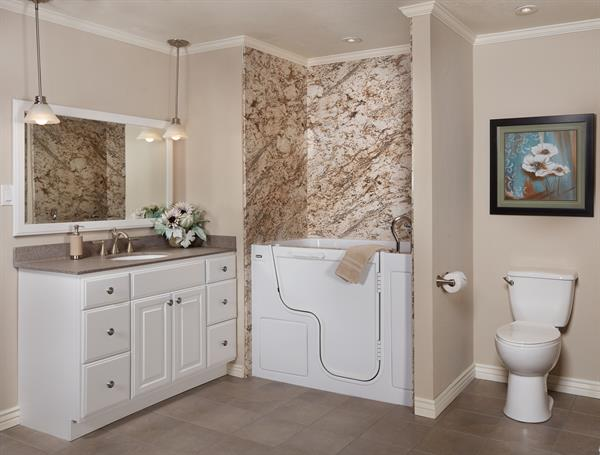 Walk-in Tub Surround - Biscayne