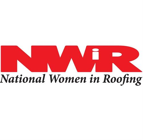Proud member of National Women in Roofing