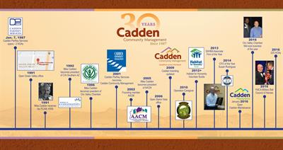 Cadden - 30 Year Timeline
