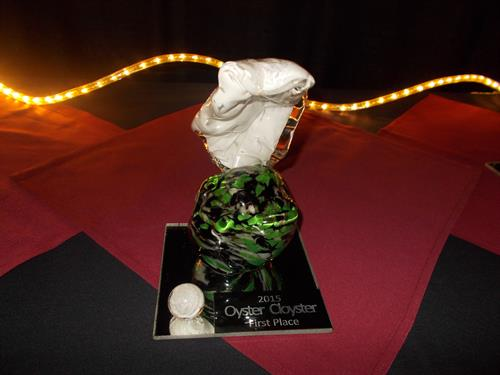 First Place Oyster Cloyster Award