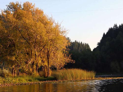 Magic hour at Loon Lake