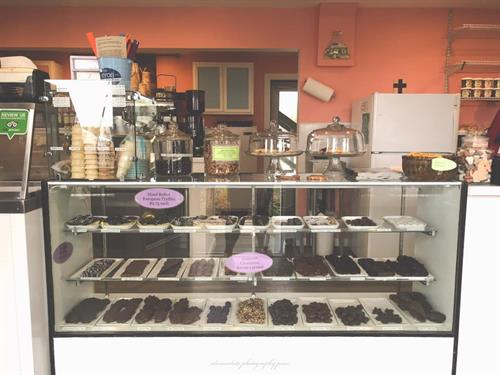 Our sweet shop Photo Courtesy Alexandrite Photography PNW