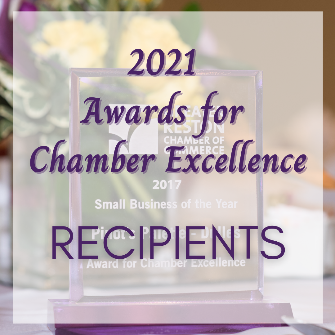 Image for 2021 Awards for Chamber Excellence Recipients